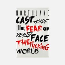 Northlane - Cast aside Rectangle Magnet