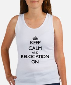 Keep Calm and Relocation ON Tank Top