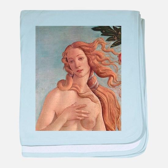 Birth of Venus by Botticelli baby blanket