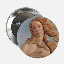 "Birth of Venus by Botticell 2.25"" Button (10 pack)"