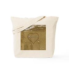 Breanna Beach Love Tote Bag