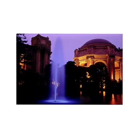 Palace Of Fine Arts Rectangle Magnet