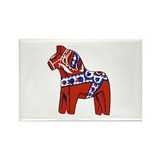 The Swedish Horse Rectangle Magnet