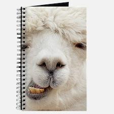 Funny Alpaca Smile Journal