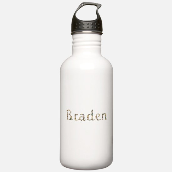 Braden Seashells Water Bottle