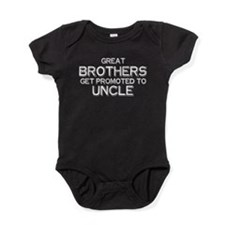 Great Brothers get promoted to Uncle Baby Bodysuit