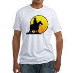 Cowboy Sunrise Fitted T-Shirt