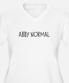 ABBY NORMAL Plus Size T-Shirt