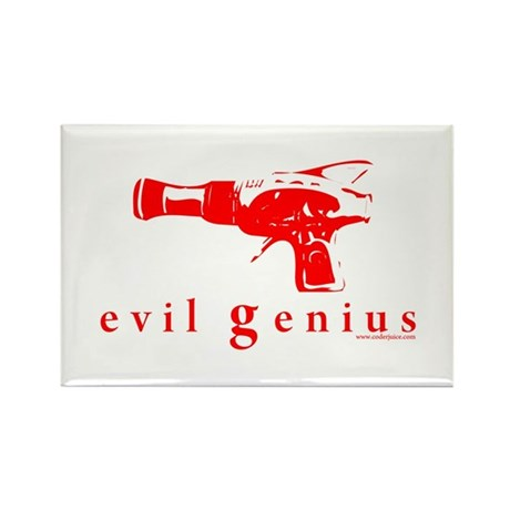 evil genius Rectangle Magnet (10 pack)