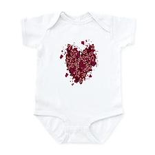 Hearts of Love Infant Bodysuit