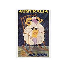 Vintage Australia Travel Poster 5'x7'area