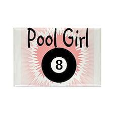 Pool Girl Magnets