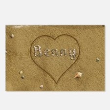 Benny Beach Love Postcards (Package of 8)