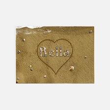 Bella Beach Love 5'x7'Area Rug