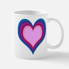 By The Bi Heart #1 Mugs