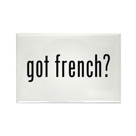 got french? Rectangle Magnet