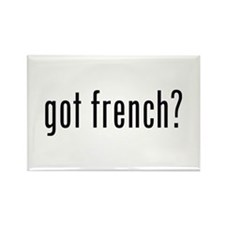got french? Rectangle Magnet (100 pack)