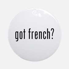 got french? Ornament (Round)