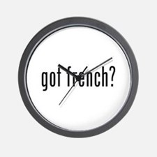 got french? Wall Clock