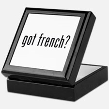 got french? Keepsake Box