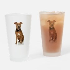 Pit Bull Drinking Glass