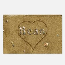 Bean Beach Love Postcards (Package of 8)