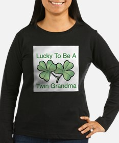 lucky twin grandma.jpg Long Sleeve T-Shirt