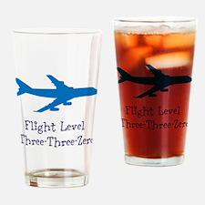 Flight Level Drinking Glass