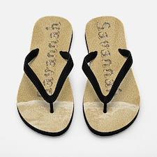 Savannah Seashells Flip Flops