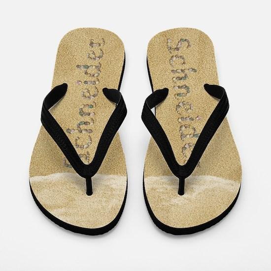 Schneider Seashells Flip Flops