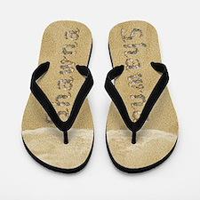 Shawna Seashells Flip Flops