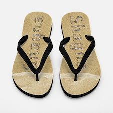 Shayna Seashells Flip Flops
