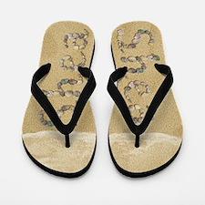 Shea Seashells Flip Flops
