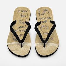 Sheri Seashells Flip Flops