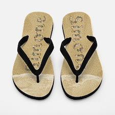 Simone Seashells Flip Flops