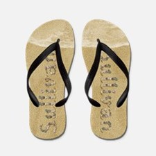 Sullivan Seashells Flip Flops