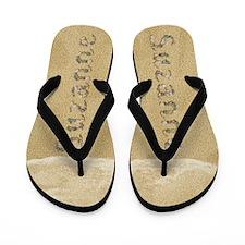 Suzanne Seashells Flip Flops