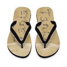 Tania Seashells Flip Flops