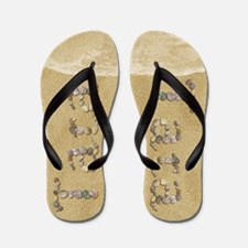 Tara Seashells Flip Flops