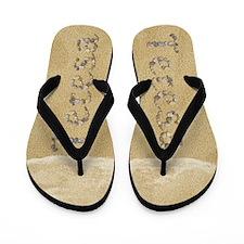 Teresa Seashells Flip Flops