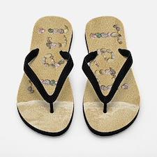 Teri Seashells Flip Flops
