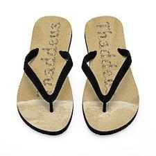 Thaddeus Seashells Flip Flops