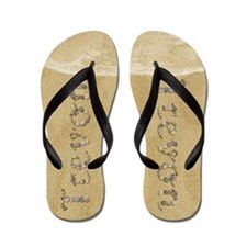 Trevon Seashells Flip Flops