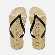 Tristen Seashells Flip Flops