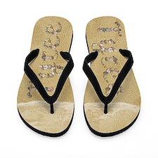 Tyree Seashells Flip Flops