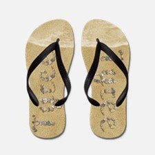 Tyree Seashells Flip Flops