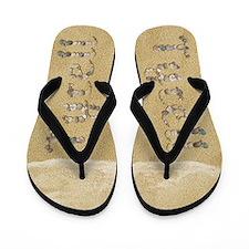 Tyrell Seashells Flip Flops