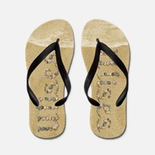 Ulises Seashells Flip Flops