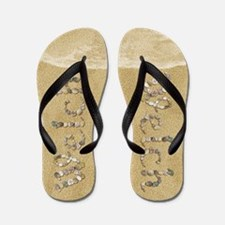 Welch Seashells Flip Flops