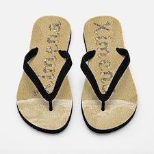 Ximena Seashells Flip Flops